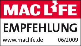 MacLife Empfehlung